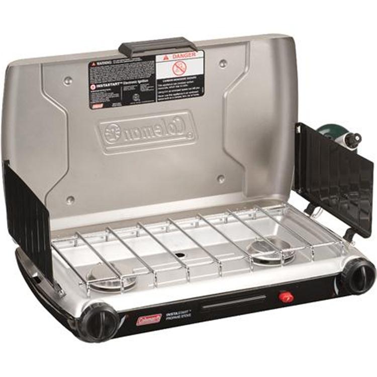 2-Burner Dual Fuel Standard Stove