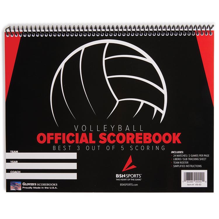 Glovers Score-Right Volleyball Score Sheet