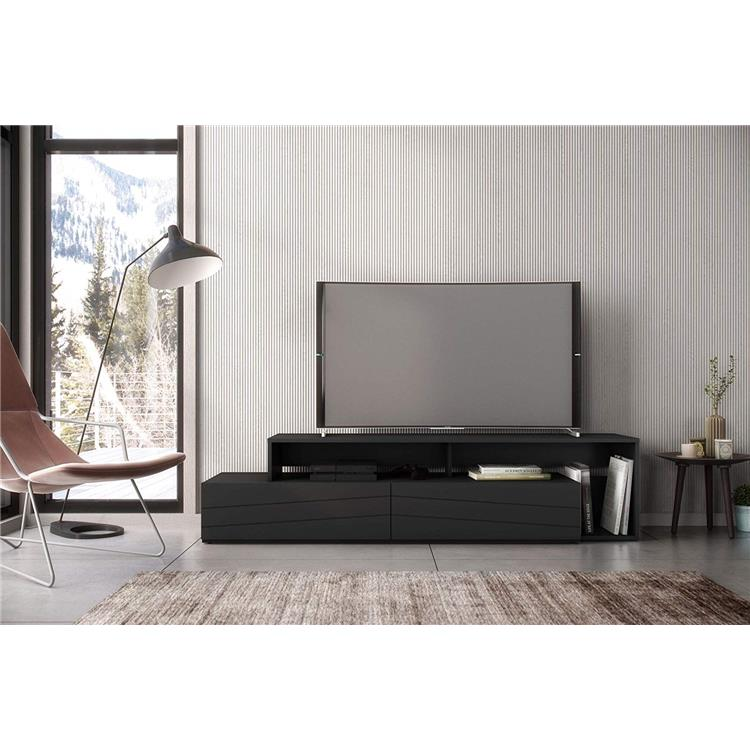 Nexera Tonik TV Stand, 72-inch, Black