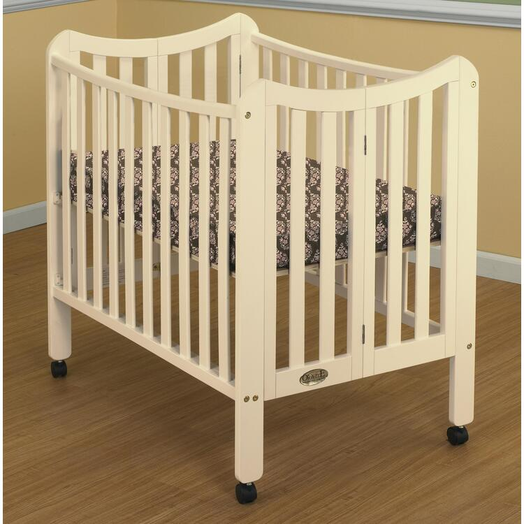 The Tian Three in One Portable Crib, with Two Levels