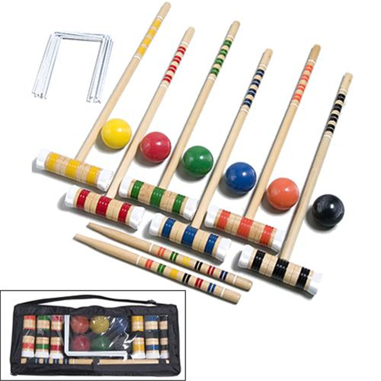 Gamecraft Deluxe Croquet Set