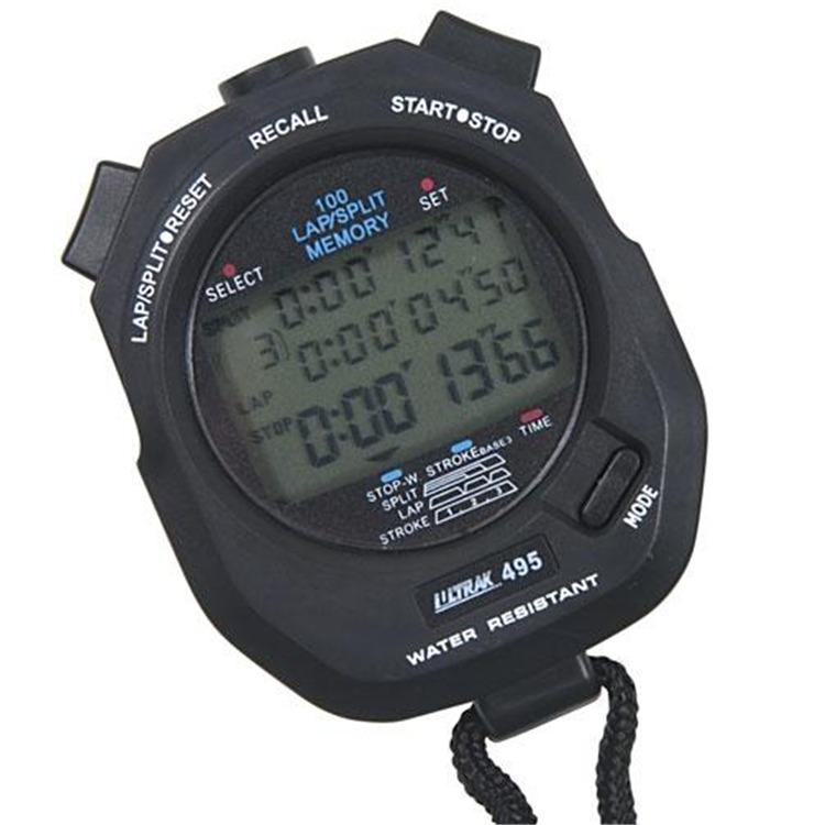 100 Lap Memory Stopwatch