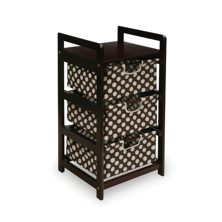 Three Drawer Hamper/Storage Unit