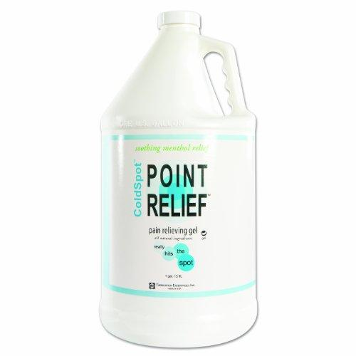 Point Relief ColdSpot Lotion - Gel Pump- 128 oz / 1 gallon