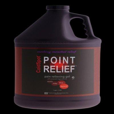 FEI FEI Point Relief ColdSpot Lotion - Gel Pump - 128 oz / 1 gallon, 4 each