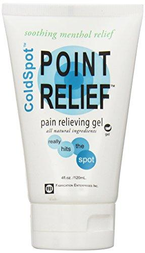 Point Relief ColdSpot Lotion - Gel Hands-Free Applicator Tube - 4 oz