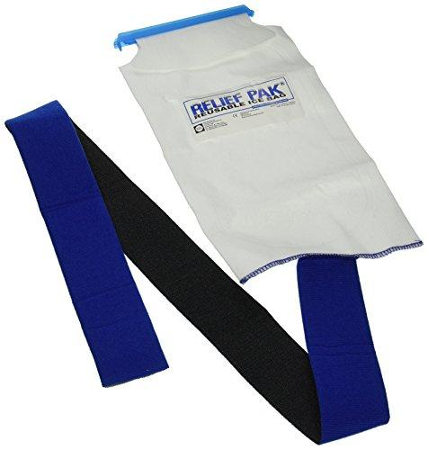 Relief Pak Insulated Ice Bag - Hook/Loop Band - large - 7
