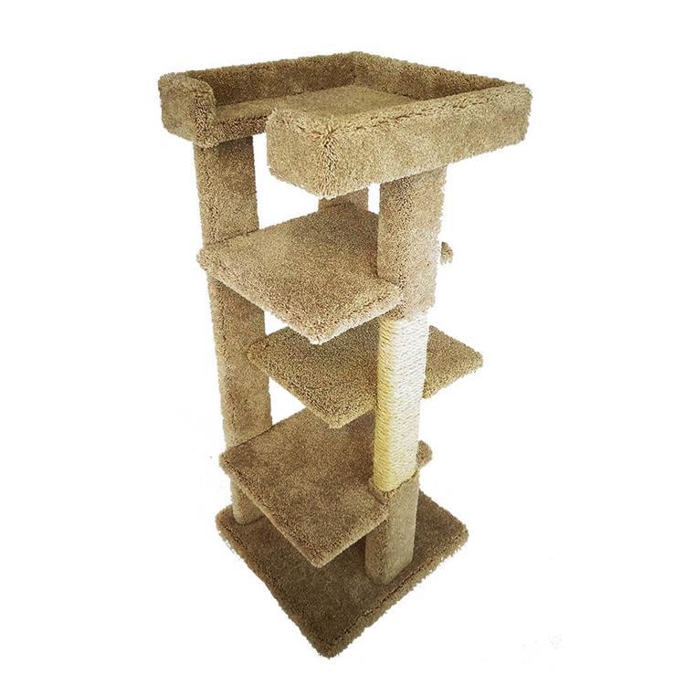 New Cat Condos Solid Wood Cat Tree