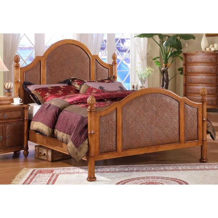 Oyster Bay Complete Bed, Size Queen