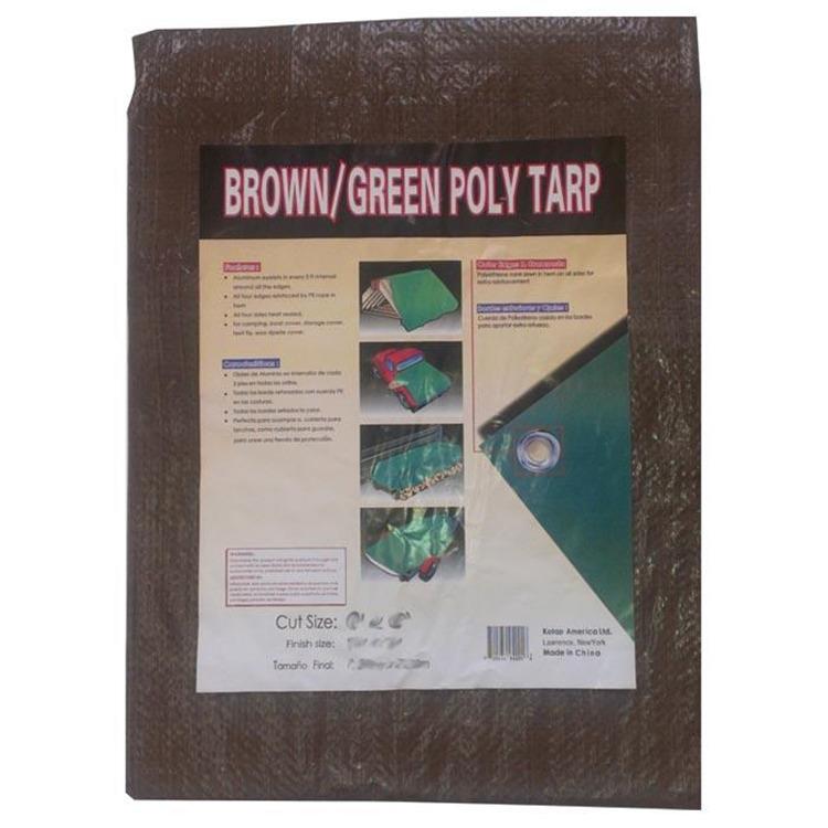 Reversible Brn/Grn Tarp