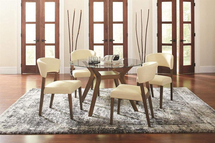 Coaster Home Paxton 5-Piece Dining Table Set [Item # 122180-S5]