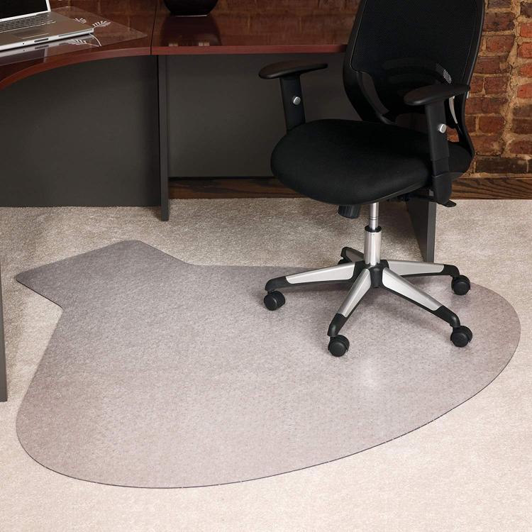 ES Robbins® Workstation Chair Mat for Carpet - Medium Pile, 54