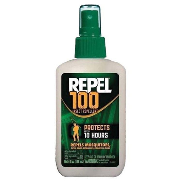 Repel 100 Pump 100% Deet 4 Oz