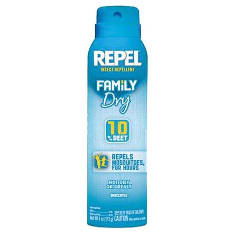 Repel Dry Aerosol 4 Oz