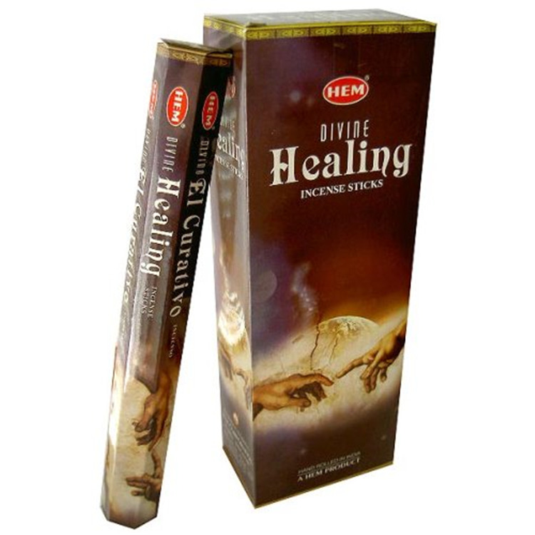 Divine Healing - Box of Six 20 Gram Tubes - HEM Incense