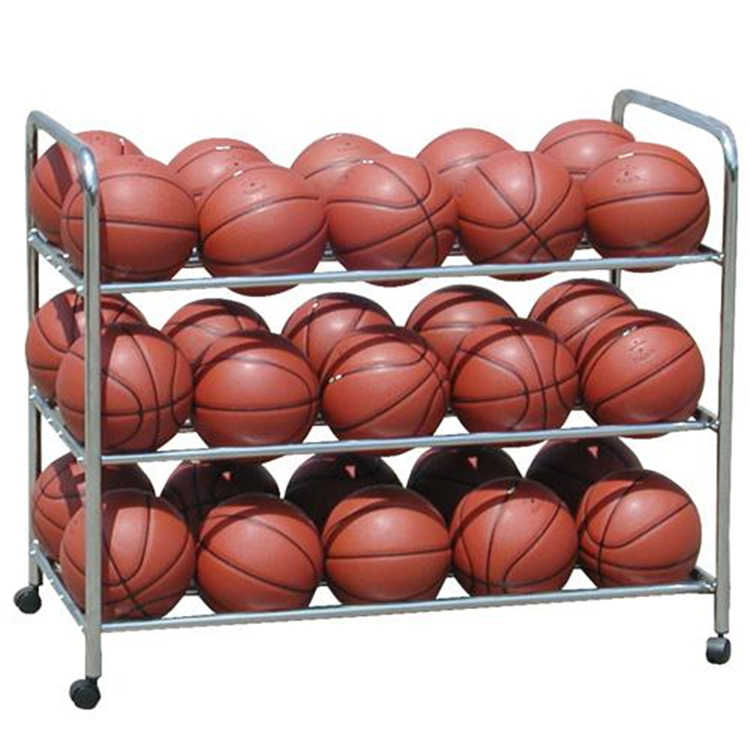 BSN Sports Double-Wide Steel Ball Cart