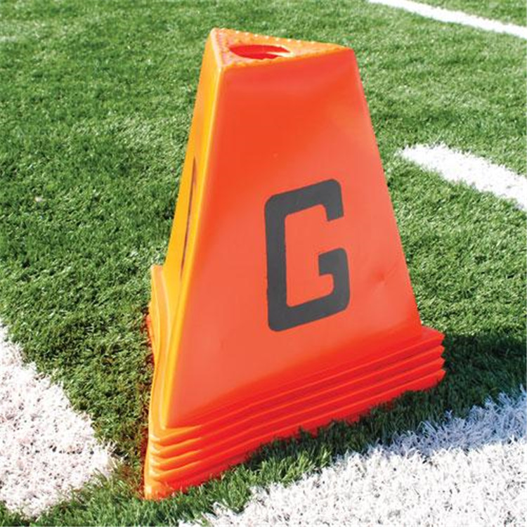 BSN Sports Poly 11pc Football Sideline Marker