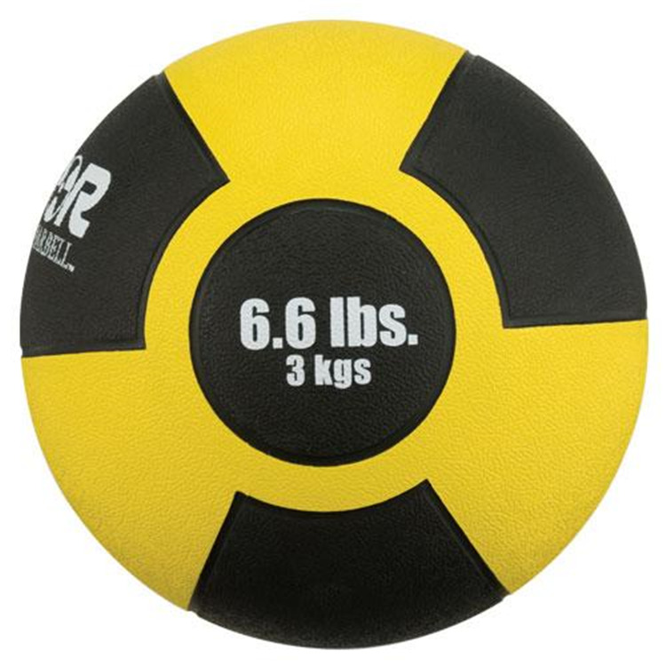 Champion Reactor Rubber Medicine Ball 3kg YELLOW