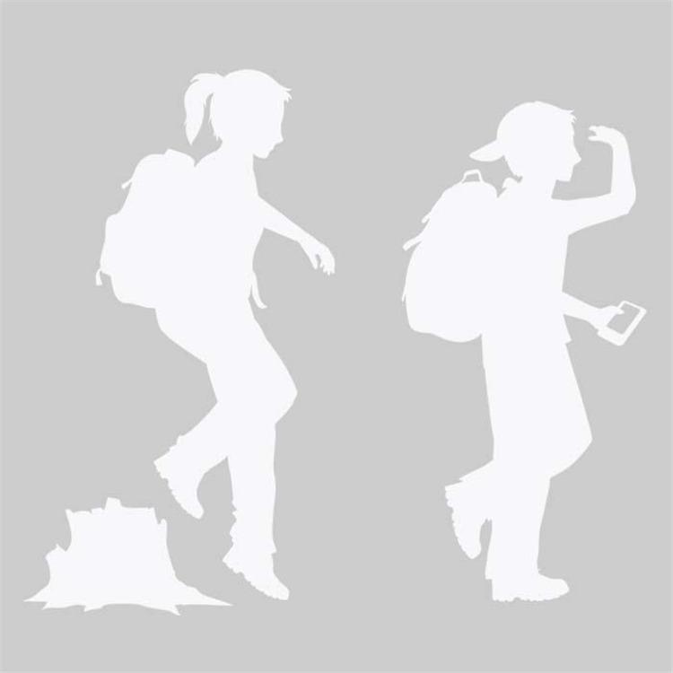 Trekker/Hiker Children White
