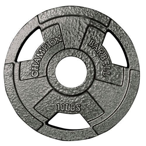 Champion Olympic Grip Plate 10LB