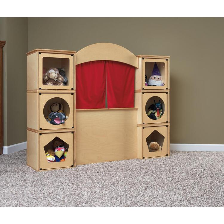 RooMeez® Extra - Play Kit - Puppet Theatre Kit