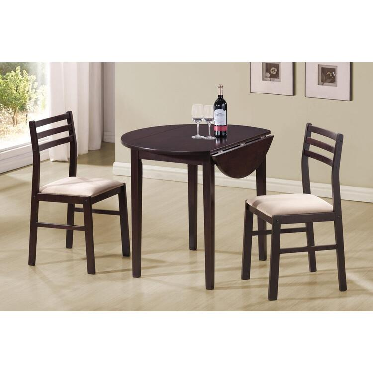 Coaster Home Coaster 3 Piece Dining Set