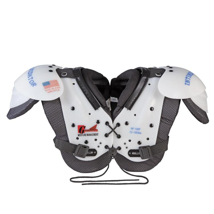 Intimidator JR, XXS 40-65 lb. Shoulder Pad