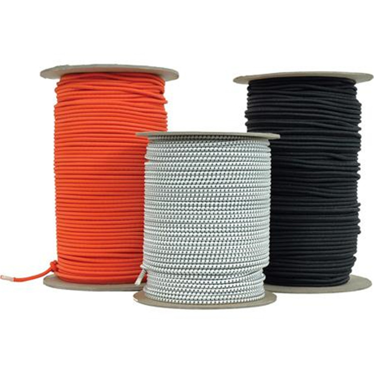 1/4 in. x 500 ft. Shock Cord, Color Black