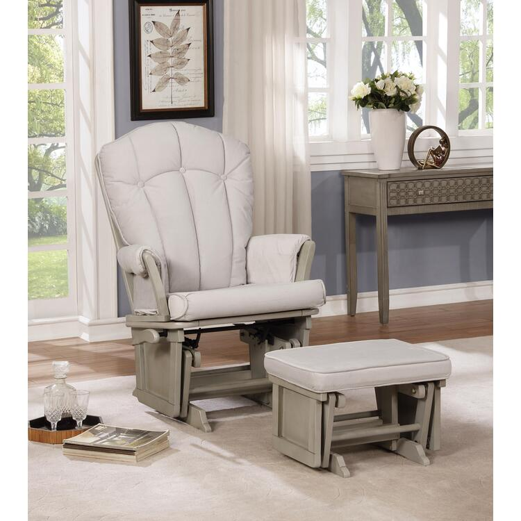 Naomi Home Vara Multiposition Glider & Ottoman Set