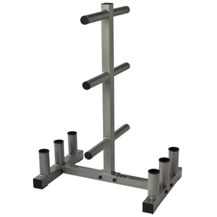 BSN Sports Olympic Weight Bar & Plate Holder