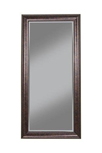 Sandberg Furniture Oil Rubbed Bronze Full Length Leaner Mirror