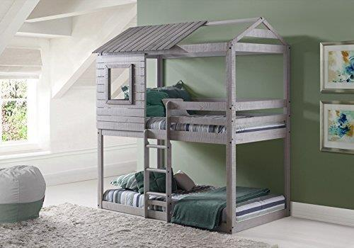 Donco Kids Deer Blind Bunk Loft