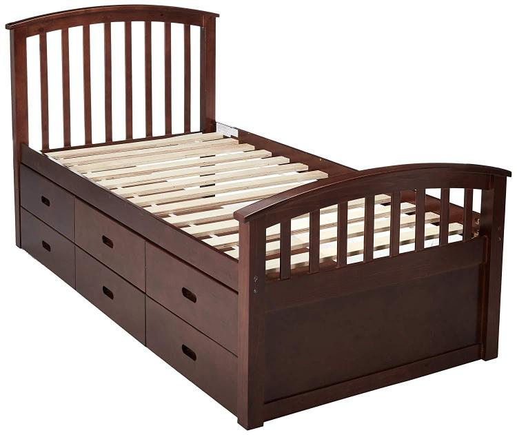 Donco Kids 6 Drawer Storage Bed