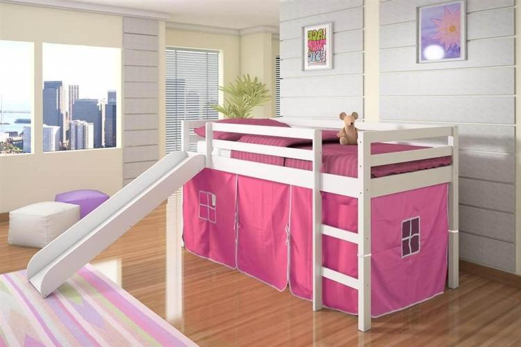 Donco Kids Mission Low Slide Loft