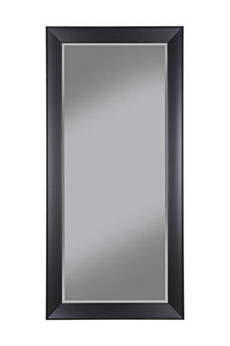 Sandberg Furniture Contemporary Black Full Length Leaner Mirror