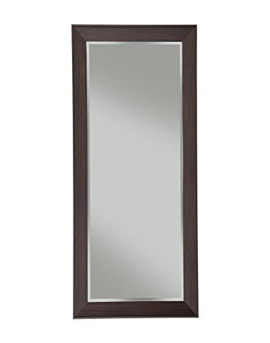 Sandberg Furniture Contemporary Espresso Full Length Leaner Mirror