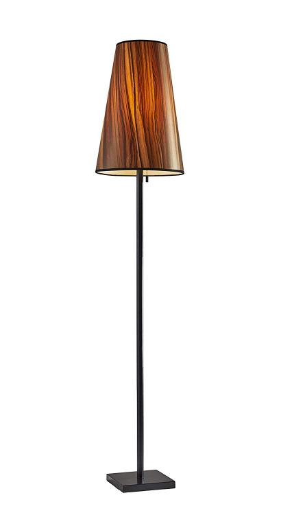 Adesso Ava Floor Lamp- Black