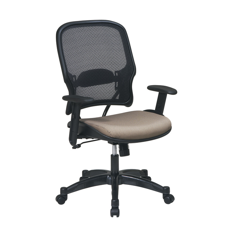 Professional Managers Chair with Air Grid Back and Fabric Seat