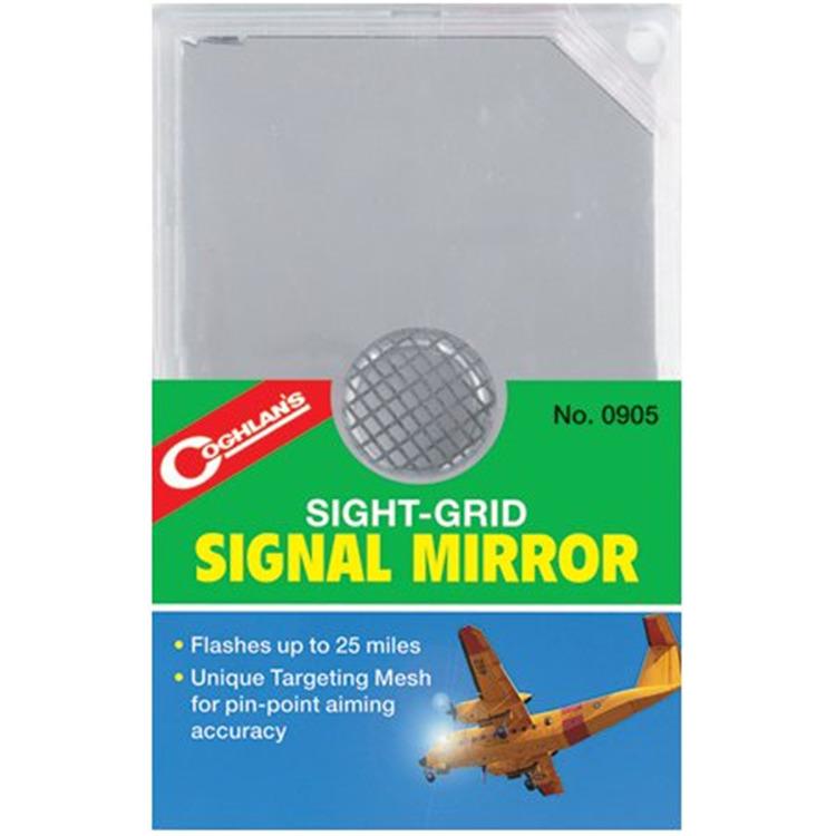 Sight-Grid Signal Mirror