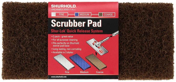 Shurhold Shur-LOK Coarse Scrubber Pad - (2 Pack)