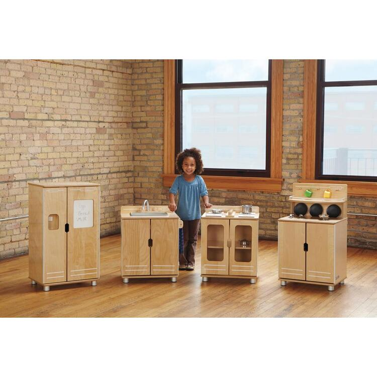 TrueModern™ Play Kitchen Fridge