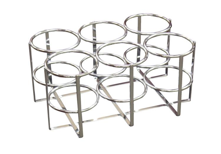Economy Oxygen 6 Cylinder Rack, M6 Cylinders Only