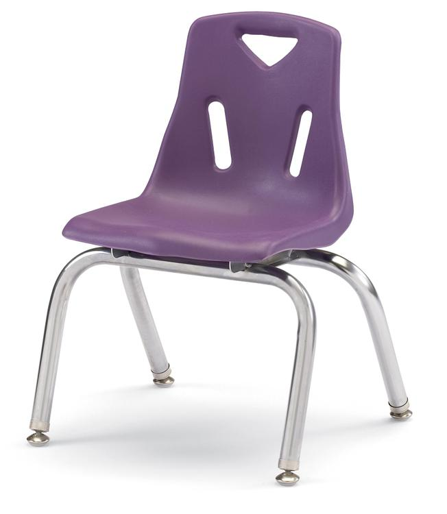 Berries® Stacking Chairs with Chrome-Plated Legs