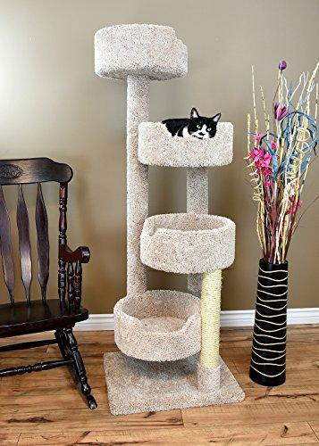 New Cat Condos Cat Stairway [Item # 190209-Beige]