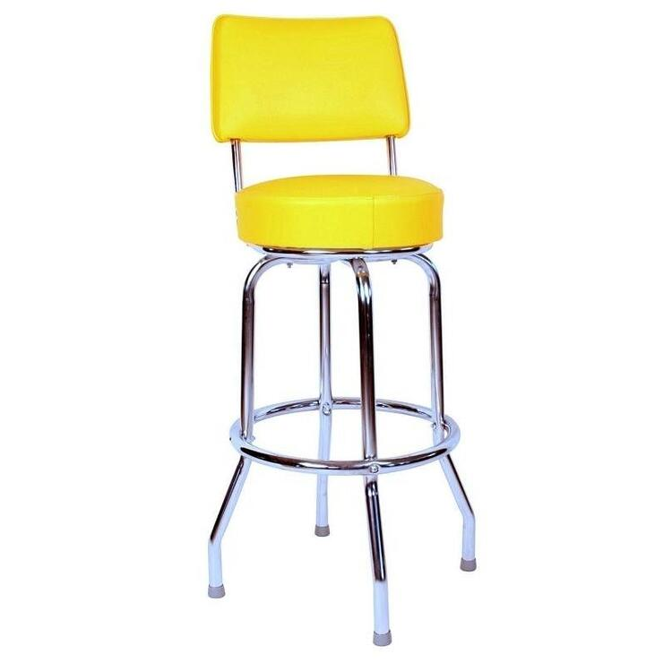 Richardson Seating 1957 Inspired Floridian Swivel Counter Stool