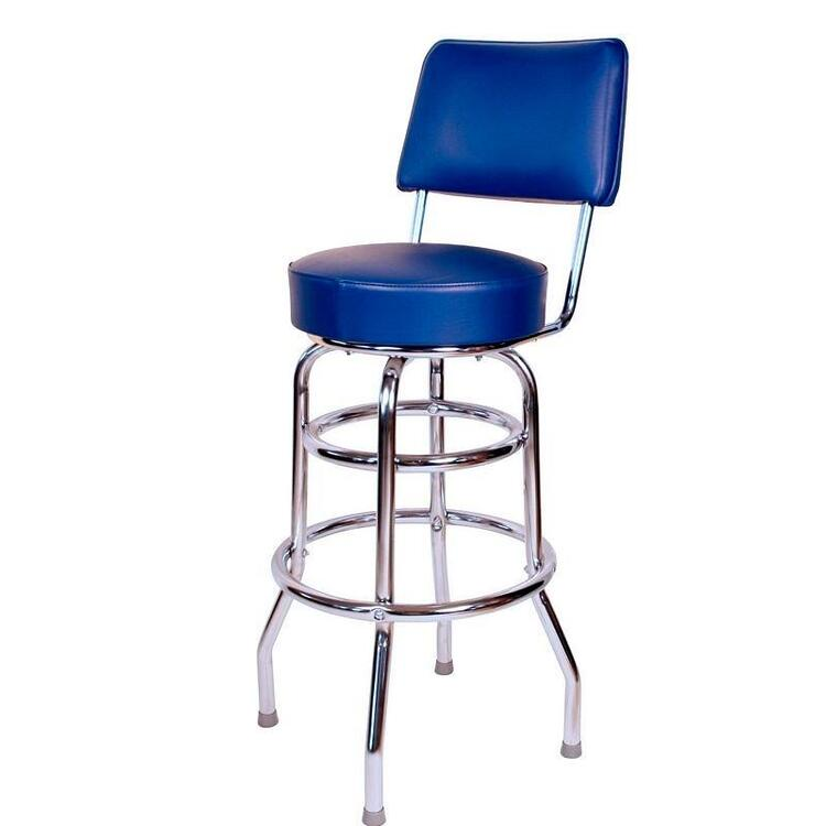 Richardson Seating 1958 Inspired Floridian Swivel Bar Stool