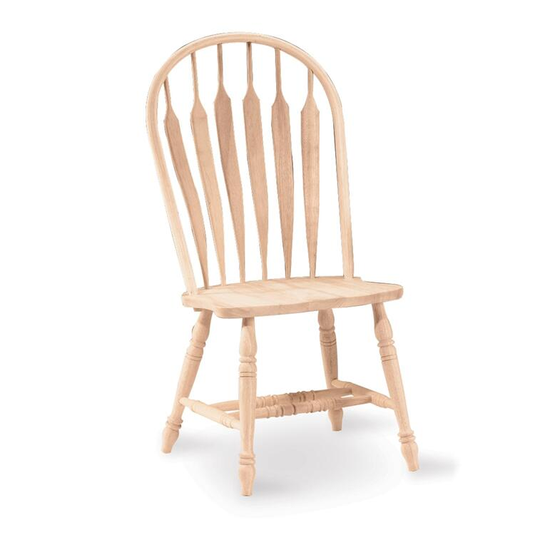 International Concepts Windsor Steambent Arrowback Chair