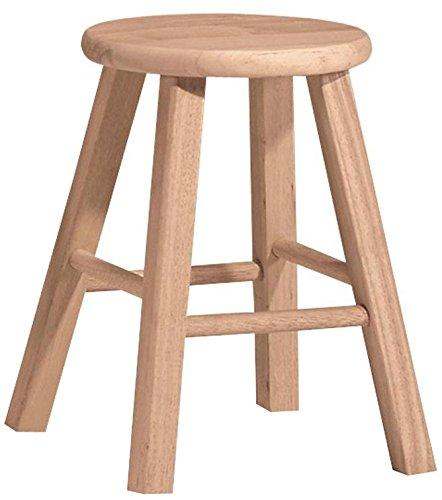 International Concepts Round Top Stool