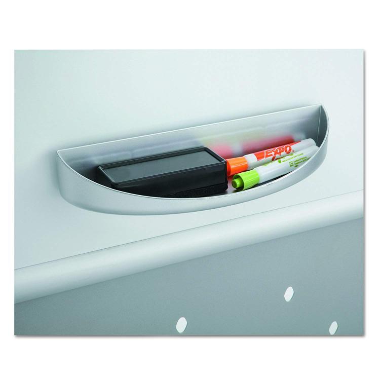 Safco Rumba Screen Eraser Tray, Gray