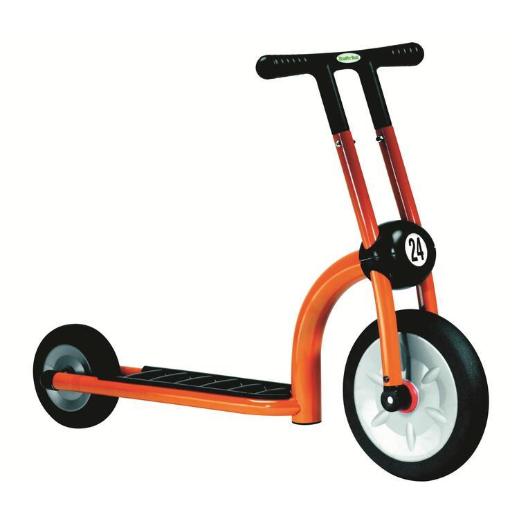 Orange Scooter